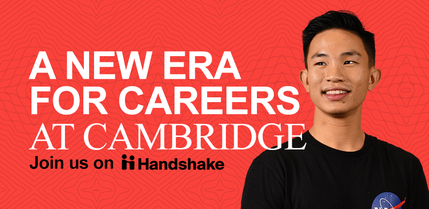 A new era for careers at Cambridge - join us on Handshake