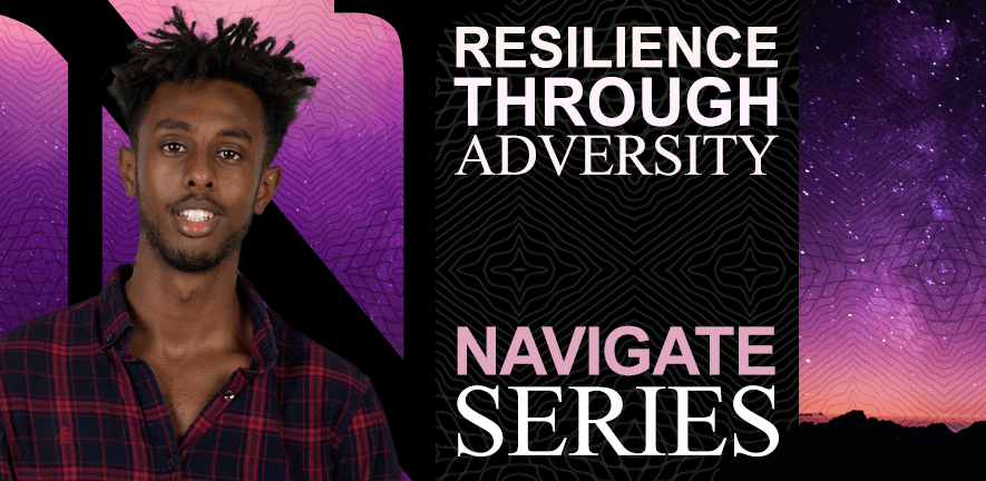 Resilience through adversity banner