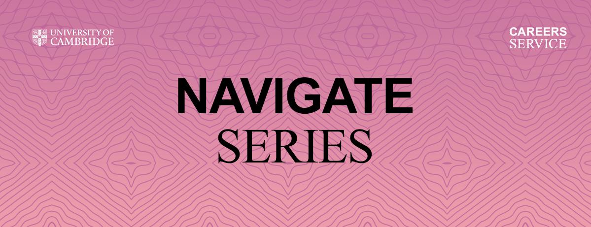 Navigate Series banner